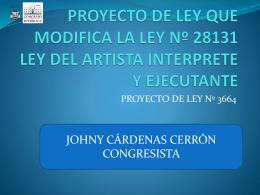artista - Congreso de la República del Perú