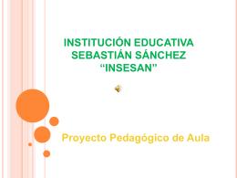 Proyecto Pedagógico de Aula La Granja Orgánica