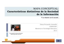MAPA CONCEPTUAL: concepción de la evaluación del aprendizaje
