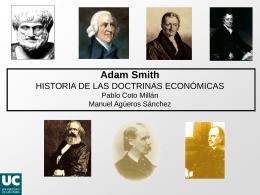 historia de las doctrinas económicas. curso 2012-2013
