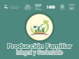 proyecto producción familiar 2014
