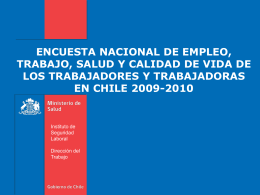 Slide 1 - Instituto de Seguridad Laboral
