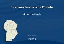 Escenario Córdoba