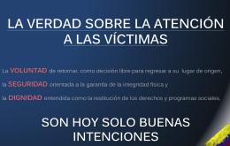 Debate Victimas 2014