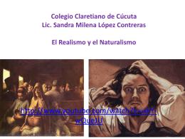 El realismo - Colegio Claretiano de Cúcuta