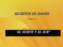 SECRETOS DE DANIEL Tema 11