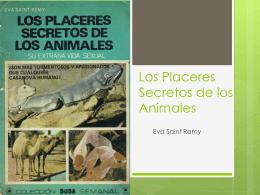 Los Placeres Secretos de los Animales