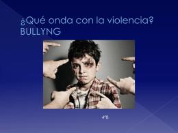 bullyng 4° b gab.m.mat.