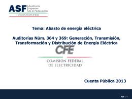 Presentación de PowerPoint - Auditoría Superior de la Federación