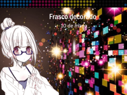 Frasco decorado - Webquest Creator 2