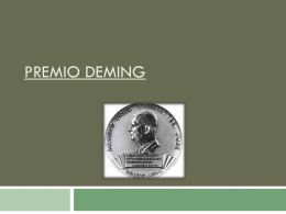Premio Deming - Arturo López UGTO