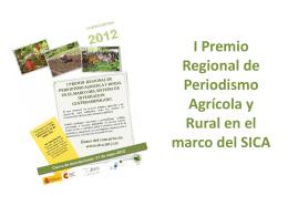 I Premio Regional de Periodismo Agrícola y Rural en el Marco del