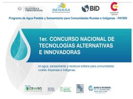 Presentación oficial - Concurso nacional de Tecnologías