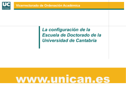 Presentación de PowerPoint - doctorado en la Universidad de