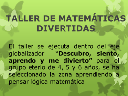 Diapositiva matemática divertida