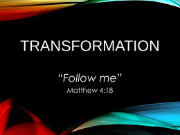 TRANSFORMATION - International City Church