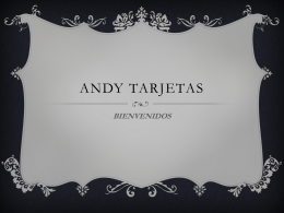 Andy tarjetas - WordPress.com