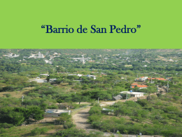 Barrio de San Pedro