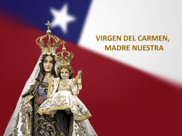 Actividad de educadores, power point Virgen del Carmen