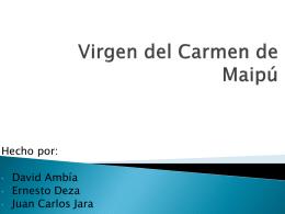 Virgen del Carmen de Maipú - 1a-copaamerica