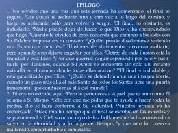 Epílogo - Claudia Alvarado