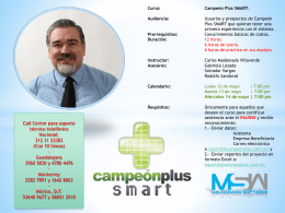Campeón plus SMART