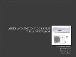 Aires Acondicionados - Climatización y Acústica para Arquitectos