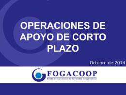 operaciones de apoyo de corto plazo oct22-2014
