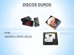 TECNOLOGIAS DE DISCOS DUROS