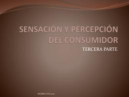 sensación y percepción del consumidor 3