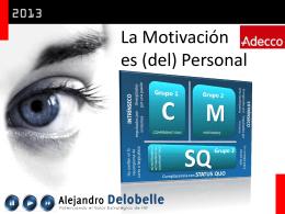 motivación - Alejandro Delobelle