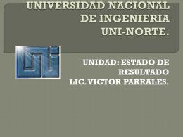 otros gastos y productos - Lic. Victor Parrales Castillo