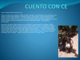 CUENTO CON CE