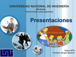 Hacer Presentaciones eficaces - Máster Sergio J. Navarro Hudiel