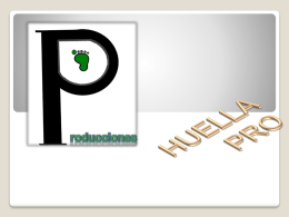 Huellas Pro - WordPress.com