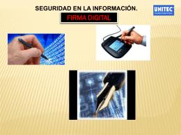 firma digital - Contenidos Abiertos