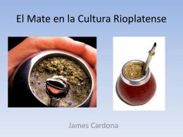 El Mate en la Cultura Rioplatense