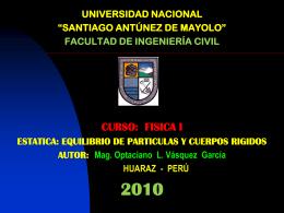 EQUILIBRIO DE CUERPOS (OPTA)
