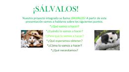 ¡SÁLVALOS! - CHAVES NOGALES SOLIDARIO