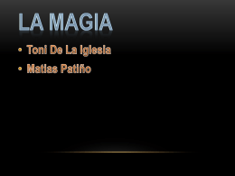 Magia - WordPress.com
