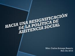 Políticas Publicas y Asistencia Social (UNAM)