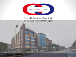 ¿Qué ofrece China Chile Central?