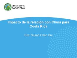 Radiografía de una inmigración china en Puntarenas, Costa