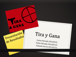 Tira y Gana - WordPress.com