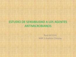 Pruebas microbiológicas de sensibilidad antimicrobiana