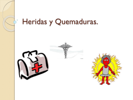 HERIDAS Y QUEMADURAS - Over-blog