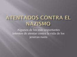 Atentados contra el nazismo