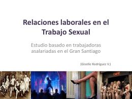 Relaciones laborales en el Trabajo Sexual