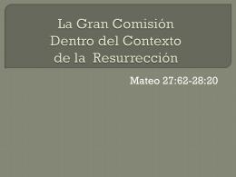 Mateo 28