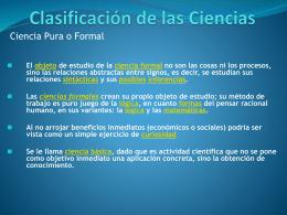 Prof. Alvin Clase 2 La Ciencia
